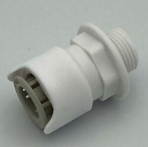 "Whale - Water Heater - Speed Fit - Straight Adaptor - 12 mm BSP 3/8"" - AK1223"