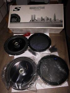 Auto Lautsprecher Manhattan CXA-6200 2-Wege Klangsystem mit Lamin.Membrane