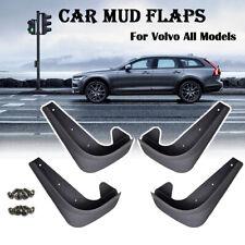Set Universal Mudflaps For Volvo C30 V40 V50 XC70 Mud Flaps Moulded Mudguards