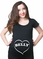 Belly Pregnancy Maternity T-shirt Gift for future mommy mom Pregnancy Tee
