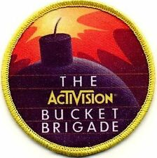 Activision Bucket Brigade Patch -- FREE SHIPPING to US addresses