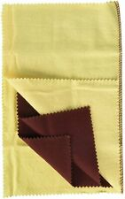 """12 x 12"""" Double Layered Jewelry Polishing Buffing Cloth For Silver Gold Metal"""