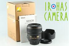 Nikon AF-S Nikkor 35mm F/1.4 G N Lens With Box #29659 L5