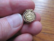 Antique Wwi Usa War Service Ship Building - Screw Post Pin - LooK