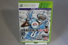 Madden NFL 13 Microsoft Xbox 360 2013 Kinect - FREE SHIPPING