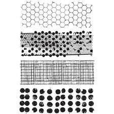 Tim Holtz Rubber Stamp Set - Mixed Media CMS 125