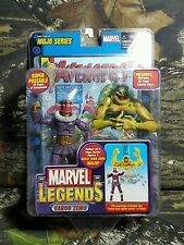 NIB MISB Marvel Legends Baron Zemo Masked Variant Mojo BAF Toy Biz BUILD FIGURE