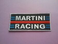MOTORSPORTS RACING CAR VAN TRUCK SEW ON & IRON ON PATCH:- MARTINI RACING (a)