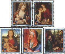 Paraguay 4207-4211 (kompl.Ausg.) gestempelt 1988 Weihnachten 1987