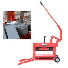 Manual Brick Cutting Brick Cutter Machine Block Splitter Landscaping Paving Tool