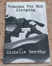Reasons for Not Sleeping by Michelle Ben-Hur, poetry