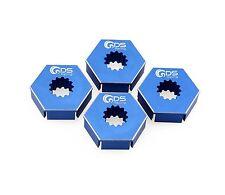 GDS Racing Extend Wheels Hex Hubs Blue for Traxxas X-MAXX 1/5 RC Truck (4pc)