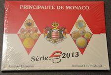 Coffret 1 Cent à 2 Euro Monaco 2013 BU + 2 Euro Adhésion ONU