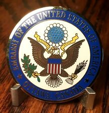 Embassy of the United States Ottawa, Canada Amb David Jacobson Challenge Coin