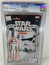 Star Wars #7 (2015) : JTC Stormtrooper Action Figure Variant Cover CGC 9.6