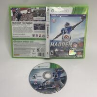 Madden NFL 16 (Microsoft Xbox 360, 2015) Tested & Working Fast Shipping