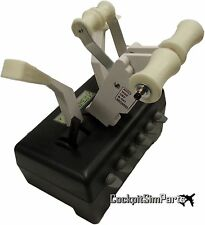 Boeing 737 Throttle levers for CH quadrant Full Handles Pro Edition White