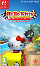 Hello Kitty Kruisers Nintendo Switch Game (Includes Bonus Super Cute Item)