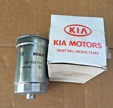 KIA Carens Fuel Filter - 0K2KK13483, Bosch 1457434314 **Genuine new KIA part
