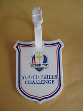 2012 RYDER CUP YOUTH SKILLS CHALLENGE BAG TAG - MEDINAH COUNTRY CLUB