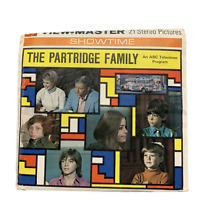 Vintage 1971 The Partridge Family View Master Reels Packet