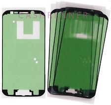5x marco pegamento almohadilla adhesiva cristal adhesive sticker LCD Glass Samsung Galaxy s6 Edge