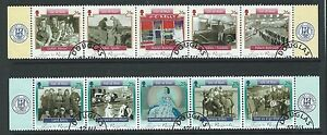 ISLE OF MAN 2005 TIME TO REMEMBER 2 STRIPS FINE USED