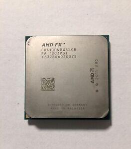 AMD FX 4100 3.6 GHz QAUD CORE Processor Socket AM3+ Excellent Condition