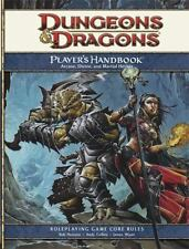Dungeons and Dragons Players Handbook 4th Edition DnD D&D Fourth