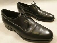 Crockett & Jones Grenville 2 Black Leather Formal Shoes 3 Eyelets UK Size 6.5 E