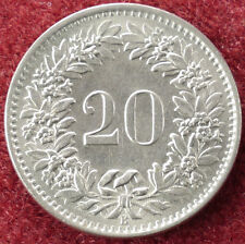 Switzerland 20 Rappen 1968 (D2004)