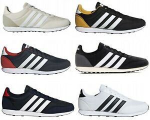 Adidas V Racer 2.0 Men`s Boy`s Classic Running Sport Shoes Trainers Quality UK