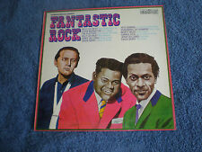 FANTASTIC ROCK - NEAR MINT 1972 CONTOUR LP - CHUCK BERRY/FATS DOMINO/JERRY LEE..