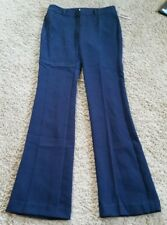 NWT Old Navy Mid-Rise Slim Flare Trousers Pants size 2 regular-In The Navy/blue