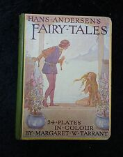 c1933 Hardback : Hans Anderson's Fairy Tales : 24 Colour Plates