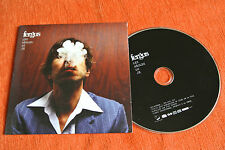 CD FERGUS ALBUM PROMO LES REGLES DU JE 11 TRACKS