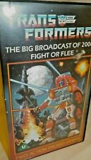 Transformers cartoon broadcast of 2006 VHS Video tape