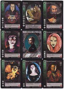 Tremere Crypt Lot G2 9x Vampires Mixed BH/Camarilla Edition/FN/AH/DS V:TES VTES