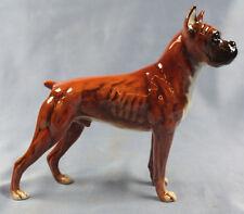 Boxer hundefigur  terrier porzellan hund Figur porzellanfigur Goebel