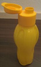 Tupperware C 139 Eco Easy 750 ml Trinkflasche Trinkverschluss Mango-Gelb Neu OVP