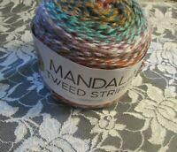 NEW LION MANDALA TWEED Buddha Brown Cake Yarn 4 Medium 150 g 552 216 0819