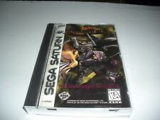 Dragon Force (Sega Saturn, 1996) Complete, CIB