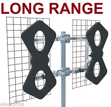 8 BAY HD TV UHF SUPER LONG RANGE ULTRA CLEAR HDTV ANTENNA 8BAY OTA ATSC DTV