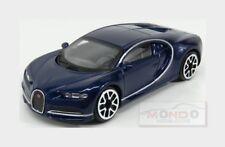 Bugatti Chiron Le Patron 2016 Blue Met BURAGO 1:43 BU30348BLM
