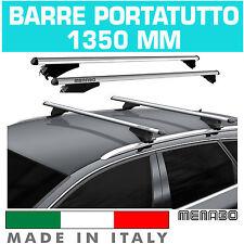 BARRE TETTO AUTO TIGER SILVER XL MENABO' portapacchi SUZUKI VITARA ANNO 15>