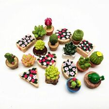 Miniature Flower Set Fairy Garden Craft Dollhouse Micro Decor Home Decoration