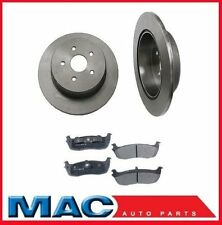 Disc Brake Rotor Rear (2) 54047 With Ceramic Pads 12MM Studs Call Ck Info