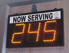 "3 Digit LED NUMBER Display, 4"" high Digits ( TAKE A NUMBER SYSTEM )"
