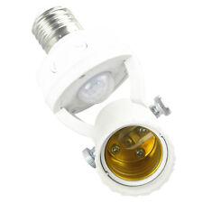 110-240v AC Infrared PIR Motion Sensor LED E27 Lamp Bulb Holder Switch