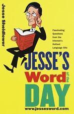 Jesse's Word of the Day: www.jessesword.com